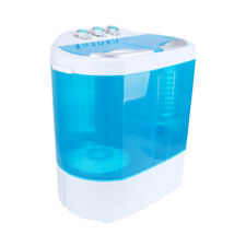Portable Mini Twin Tub Washing Machine Electric 4.2KG Spin Dryer Laundry