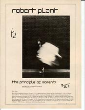 Robert Plant Principle of Moments Original 1983 Vintage Album Ad Led Zeppelin