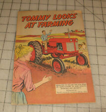 1950s/60s TOMMY LOOKS AT FARMING B. F. Goodrich Promotional Comic Book