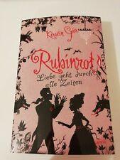 Buch Rubinrot Liebe geht durch alle Zeiten- Kerstin Gier