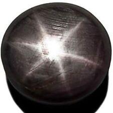 SIERRA LEONE Fancy Star Sapphire 29.94 Cts Natural Untreated Purplish Grey Round