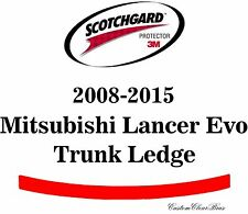 3M Scotchgard Paint Protection Film Pre-Cut 2008 - 2015 Mitsubishi Lancer Evo