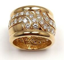 Interwined Antique Design Fashion Ring Jewelry Man Women 18k Gold Plated Vintage