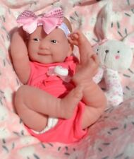 ❤️ CUTE ❤️ BERENGUER LA NEWBORN REALISTIC BABY DOLL + EXTRAS FOR REBORN PLAY NEW