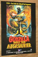 Godzilla Duell der Megasaurier - Godzilla vs. King Ghidorah 1991 Poster 30x42cm