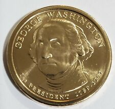 2007 D George Washington Presidential Dollar Satin Finish