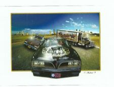 SMOKEY AND THE BANDIT TRANS AM  Sticker Decal