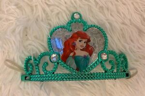 Build a Bear Disney Princess Ariel Little Mermaid Cameo Crown Tiara Ltd Edition