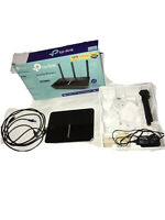 TP-LINK Archer VR600 AC1600 Modem Router As Is Used While Ago