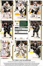 2011-12 Panini Score Glossy Dallas Stars Complete Master Team Set (15)