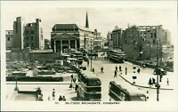 Coventry Blitzed Broadgate Buses Street View by H & J Busst     D2.2202