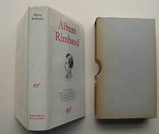 ALBUM PLEIADE RIMBAUD