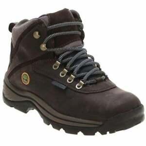Timberland Dark Brown Nubuck White Ledge (Z110) 012668 Womens Boots