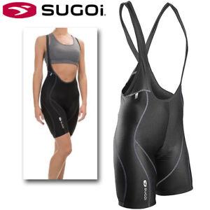 Sugoi RS Womens Cycling Bib Shorts - Black