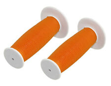 Bicycle Handle Bar Mushroom Grip White and Orange BMX Boys And Girl Bikes 163210