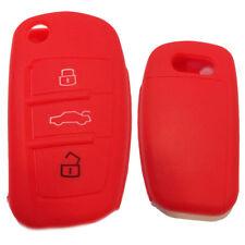 Funkschlüssel Schlüssel Hülle für Audi A1 A6 A3 S1 TT 8J S3 8P A4 B7 B8 Rot