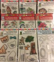 Stampendous Stamp & Die Sets Lot to choose from