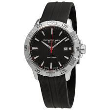 Raymond Weil Tango Black Dial Mens Watch 8160-SR2-20001