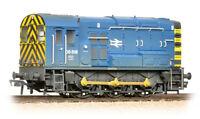 Bachmann 32-115B - BR Class 08 Diesel Shunter, 08818 Blue (Weathered) - New (00)