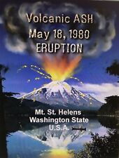 Mt St Helens Volcano Ash Volcanic Eruption May 1980 AUTHENTIC WA Genuine 2 oz