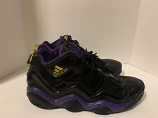 Adidas Top Ten 2000 Black Purple Kobe Bryant Athletic Shoes Size 13 G56095