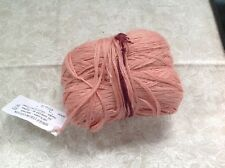 Wolle's single color cotton, zinnia