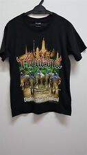 Thailand Elephant festival Official Joligolf Licensed Product no 957 Black t Shi