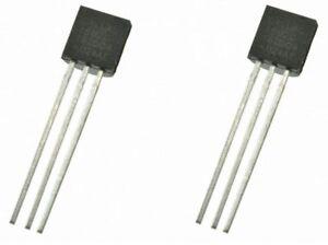 2 x DS18B20 Digital Temperature Sensor Chip Dallas TO92 Raspberry Arduino