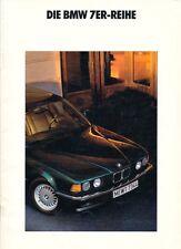 BMW - 7er -730i -735iL - E32 - Prospekt - 02/90 - Deutsch - nl-Versandhandel