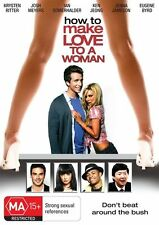 How To Make Love To A Woman (DVD, 2010) R4 New Stock, Genuine & unSealed (D172)