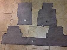 infiniti 2005-2013 rear and front floor mats