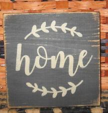 PRIMITIVE  COUNTRY  HOME  mini  sq   SIGN