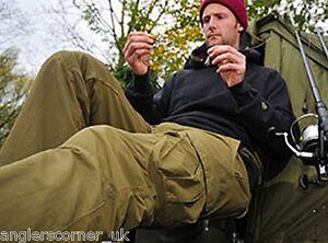 Korda Polar Kombats - Fleece Lined Carp Fishing Combat Trousers - All Sizes