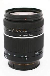 SONY 28-75mm f/2.8 SAM    A-mount    Professionally tested