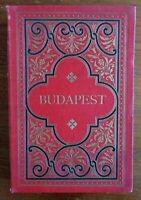 Budapest Hungary 1895 photo album souvenir book 20 nice city views