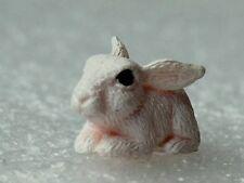Miniature Resin Rabbit Garden Fairy Ornament Flower Pot Plant Home Decor