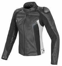 NEW LADIES/WOMEN Motorbike/Motorcycle Racing Jacket Cowhide Leather Jacket Racer