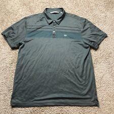 TRAVIS MATHEW XXL Performance Fit Grey Golf Polo Shirt