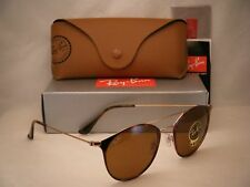 Ray Ban 3546 Copper/Havana w Brown Lens NEW sunglasses (RB3546 9074 52 mm size)