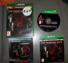 Metal Gear Solid V The Phantom Pain Day One Edition Juego en muy buena condición Xbox One