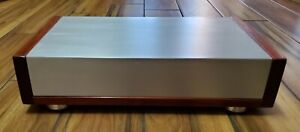 """DIY Tube amplifier linestage preamplifier DAC audio chassis enclosure  3"""" Height"""