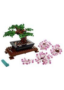 LEGO Bonsai Tree 10281 Building Kit Brand New In Hand Ready To Ship Free Ship