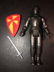 Vintage DFX 1982 Dragon Riders Of The STYX Black Knight, With Sword