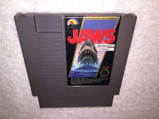 Jaws (Nintendo Entertainment System, 1987) NES Game Cartridge Vr Nice!