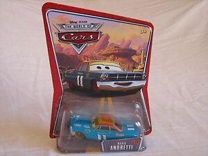 2007 Mattel Disney Cars #11 Mario Andretti