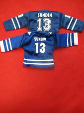 Mats Sundin mini jersey lot   two different Maple Leafs min jersey's