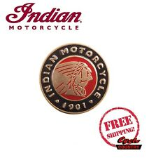 "GENUINE INDIAN MOTORCYCLE MEN'S BELT BUCKLE ""CIRCLE"" SCOUT CHIEF ROADMASTER NEW"