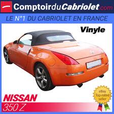Capote Nissan 350 Z cabriolet (2003 - 2009) - Vinyle aspect Alpaga Twillfast®