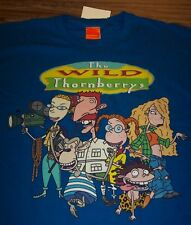 VINTAGE STYLE Nickelodeon THE WILD THORNBERRYS T-Shirt SMALL NEW w/ TAG