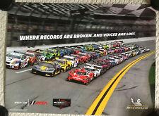 2021 IMSA Michelin Rolex 24 Daytona *Where Record Are Broken* Race Cars Poster